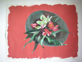 Still Life Painting Flowers